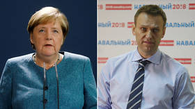 Germany's Merkel claims someone wanted to 'silence' Navalny, but spokesman says 'poisoning' revelation won't affect Nord Stream 2
