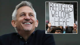 'We owe a lot to refugees': Football ace Gary Lineker reveals he will let a stranger live in his mansion to boost campaign (VIDEO)