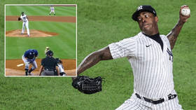 'He obviously did it on purpose': MLB pitcher blasted for appealing baseball ban after hurling 101mph ball at rival's head (VIDEO)