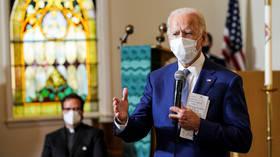 'They'll shoot me!' Joe Biden slammed for 'sick' joke in Kenosha after police shooting