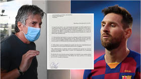 'Error on your part': Messi's dad writes letter disputing Barcelona's €700m buyout clause of his son after La Liga ruling