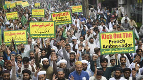 'Stop barking, French dogs!': Protests in Pakistan over Charlie Hebdo's reprint of Prophet Mohammed cartoon