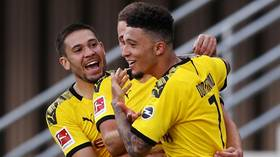 'I guess it's a nice feeling to be worth so much': Jadon Sancho staying 'patient' as Manchester United rumors resurface