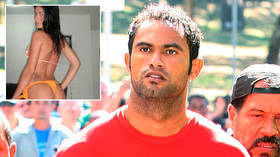 Footballer serving 22-YEAR jail sentence over murder of model whose body was fed to DOGS faces tag dispute after joining new club