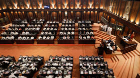 Sri Lankan convict on death row for murder sworn in as MP amid heckles from opposition (VIDEO)