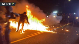 Portland police ask protesters not to start fires amid statewide Oregon wildfire emergency