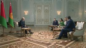 Amid protests, violence in Belarus, Lukashenko talks to Russian media