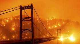 'Getting pretty apocalyptic': California skies turn orange as awestruck residents fear the wrath of wildfires