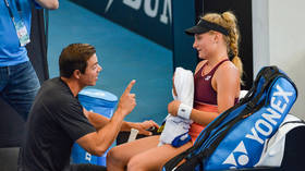 Ukrainian tennis starlet Dayana Yastremska ENDS tension with coach over Osaka tweets by DITCHING him after US Open