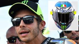 Vale's Viagra: Legendary MotoGP ace Valentino Rossi carries 'blue pill' helmet design for San Marino GP