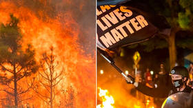 'Wildfires are mostly peaceful': Portland mayor mocked as critics of BLM protest policies react to state of emergency over blazes