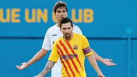 'Stop kicking me, a**hole!' Lionel Messi lashes out at aggressive opponent as he makes his Barcelona return