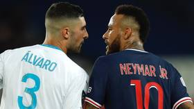 Slapped with a ban? Neymar could be suspended for up to SEVEN games after red card against Marseille