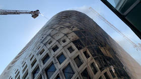 Large blaze rips through landmark Zaha Hadid-designed building in downtown Beirut (VIDEOS)