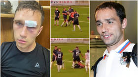 ATTEMPTED MURDER: Prosecutors to seek more serious charge for ex-Russia captain Shirokov after vicious attack on referee (VIDEO)