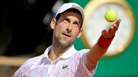 'I feel confident about the game': Novak Djokovic happy to move on from US Open drama as he warms up for French Open