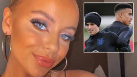 'Babe': Icelandic girl invited back to hotel by England stars posts first pics since sorry duo were banished over Snapchat scandal