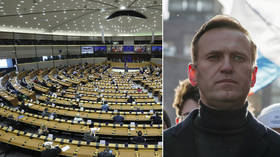 European Parliament calls for international probe into alleged Navalny poisoning & suspension of Nord Stream 2 gas pipeline