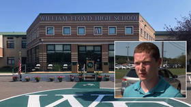 MAVERICK: New York student who insisted on attending high school in person ARRESTED and suspended for entire year