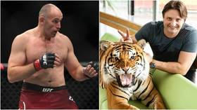 Fraudsters detained after passing themselves off as Russian UFC fighter Alexey Oleynik to swindle circus star