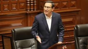 Peru's scandal-plagued President Martin Vizcarra survives impeachment vote