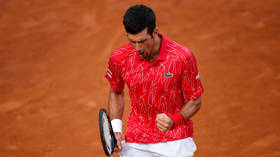 Gladiator Spirit Novak Djokovic Makes History As He Puts Us Open Controversy Behind Him To Win Rome Title Rt Sport News