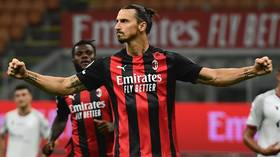 Zlat's back! Zlatan Ibrahimovic scores TWICE to give AC Milan a flying start in Serie A season opener (VIDEO)
