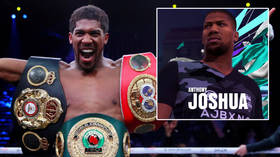 'He's good at running': Fans weigh in on 'BIG STIFF' heavyweight boxing champ Joshua over cameo move for new FIFA 21 football game