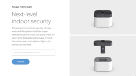 Amazon Ring unveils tiny IN-HOME DRONE to spy on your property while you're out