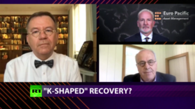 CrossTalk on the economy, QUARANTINE EDITION: 'K-Shaped' recovery?