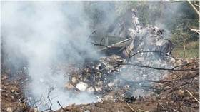 Serbian MiG-21 fighter jet crashes near village during routine flight, 1 pilot reportedly killed, 1 missing