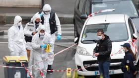 Second suspect detained after knife attack outside former Charlie Hebdo offices in Paris, which left 2 journalists injured