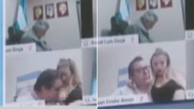 Argentinian MP resigns after sucking on woman's breasts during online congressional session