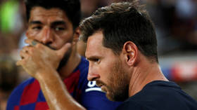 'I love you very much': Departing Suarez urges strike partner Messi not to let Barcelona enemies 'tarnish the giant that you are'
