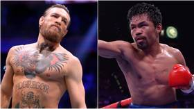 'I'm boxing Manny Pacquiao in the Middle East': Conor McGregor says he is returning to the ring to face Filipino legend