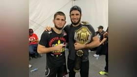 Khabib teammate 'collapses' after tough weight cut, is pulled from fight card in Dubai