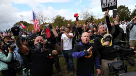 Portland Police respond to 'concerned' liberals, say the 'P' on officer's hat doesn't stand for Proud Boys; it stands for 'police'