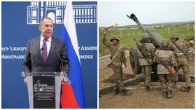 Moscow reacts to Nagorno-Karabakh flare up: Vows to carry on mediation efforts, urges Armenia & Azerbaijan to cease fighting