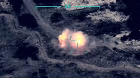 Watch DRONE FOOTAGE claiming to show Azeri strikes against air defense systems of ethnic Armenia forces in Nagorno-Karabakh