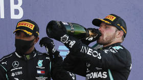 Flying Finn Bottas fires foul-mouthed tirade at 'critics' after winning Russian Grand Prix (VIDEO)