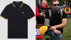British apparel maker Fred Perry aghast that right-wing Proud Boys group has adopted one of its iconic styles, weighs LEGAL ACTION