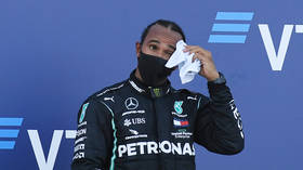 Lewis Hamilton says F1 officials are 'trying to stop him' after Russian GP penalties cost him chance of record-equaling win