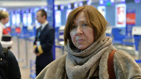 Belarusian Nobel Literature prize winner & leading opposition figure Alexievich leaves country but insists she's not fleeing
