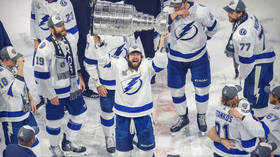 Russia's Kucherov ends as playoff top scorer as Tampa Bay Lightning win Stanley Cup