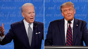 'Will you shut up, man?' Biden struggles to talk over interjecting Trump as debate gets off to messy start