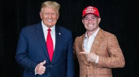 UFC firebrand Colby Covington attends presidential debate as special guest of Donald Trump