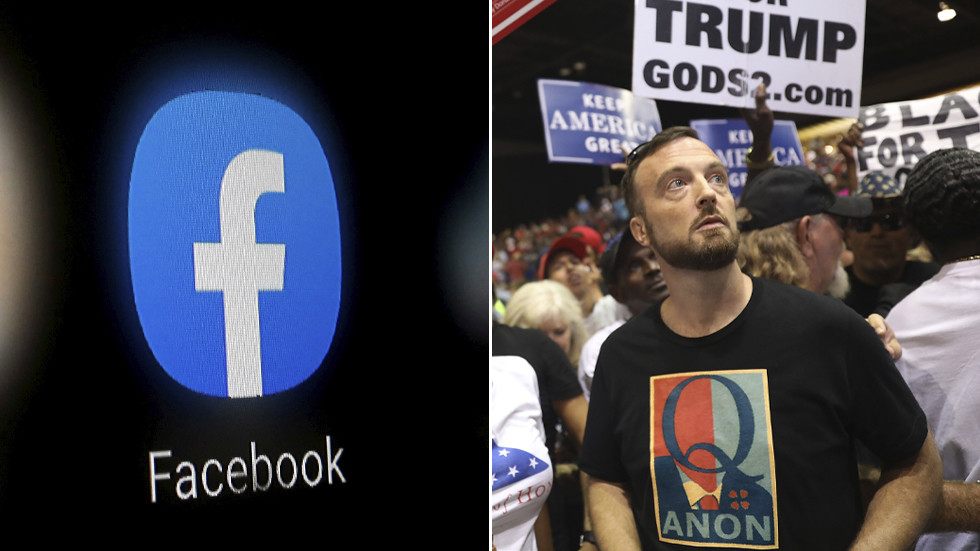 The purges begin! Under new 'independent' oversight board, Facebook & Instagram ban QAnon & 'Militarized Social Movements'