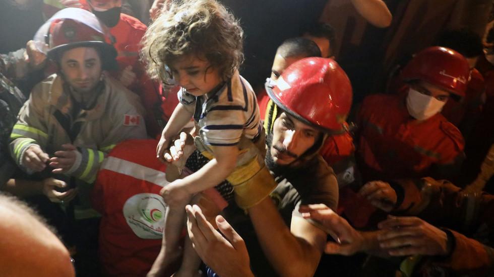 4 killed, dozens injured in gas tank explosion in Beirut neighborhood (VIDEOS)