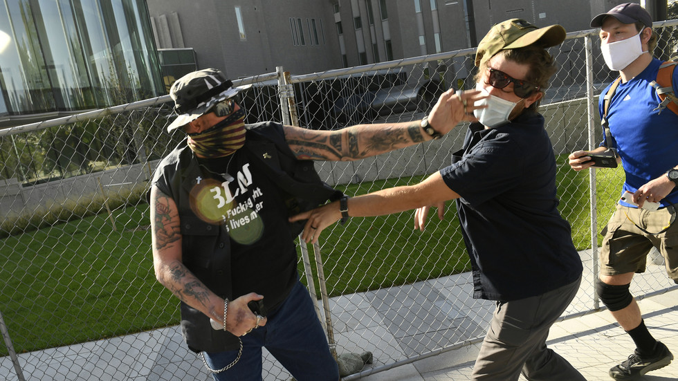 Shooting suspect in Denver identified as 'private security guard' hired by local channel, police say 'no affiliation with Antifa'