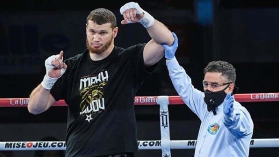 He's 'going to instill fear': Russian heavyweight prospect Makhmudov targeting Anthony Joshua fight after 11th straight KO win
